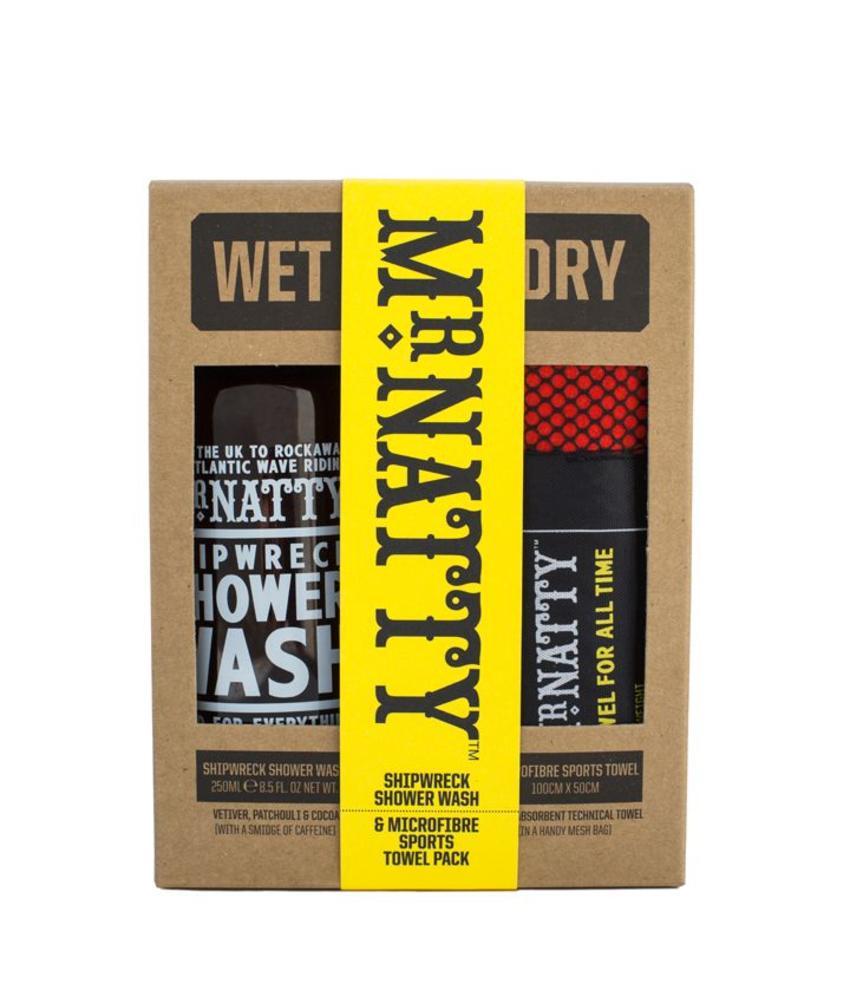 Mr Natty Wet & Dry Gift Set