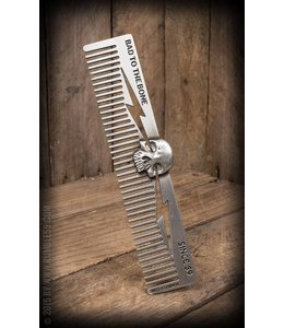 Schmiere Comb 3D Skull - Bad to the Bone