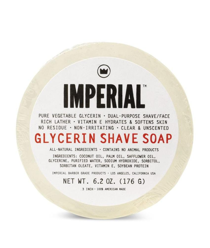 Imperial Barber Products Glycerin Shave Soap - Puck