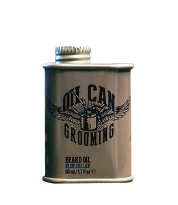 Oil Can Grooming Blue Collar Beard Oil