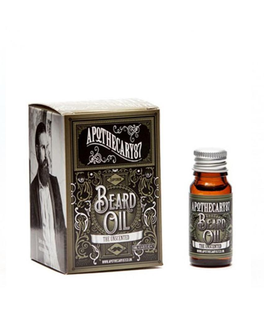 Apothecary87 The Unscented Beard Oil Small