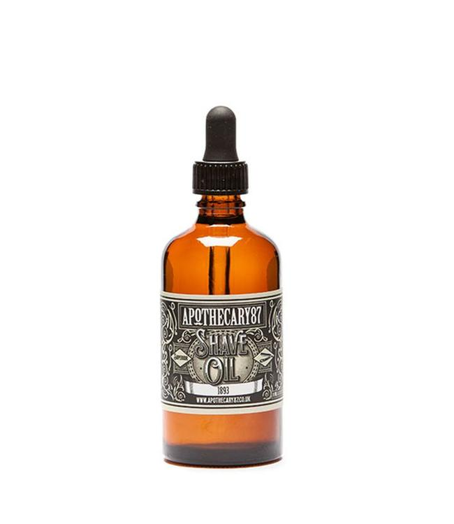 Apothecary87 Smooth Shaving Oil - 1893 Fragrance