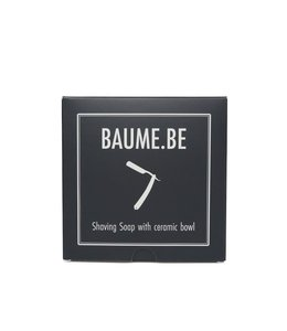 Baume.be Shaving Soap with Ceramic Bowl