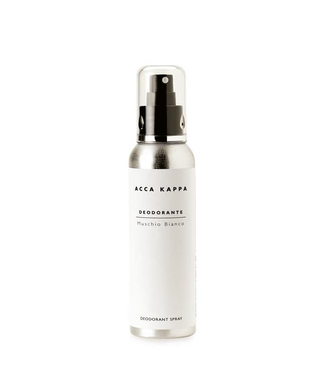 Acca Kappa White Moss Natural Deodorant Spray 125 ml