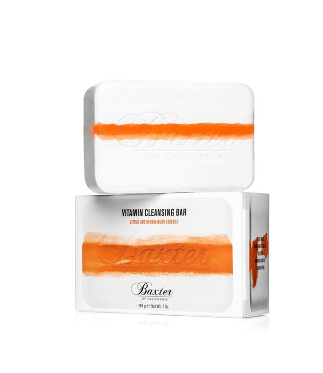 Baxter of California Vitamin Cleansing Bar - Citrus & Herbal Musk