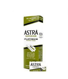 Astra Superior Platinum Double Edge Blades (100 st)