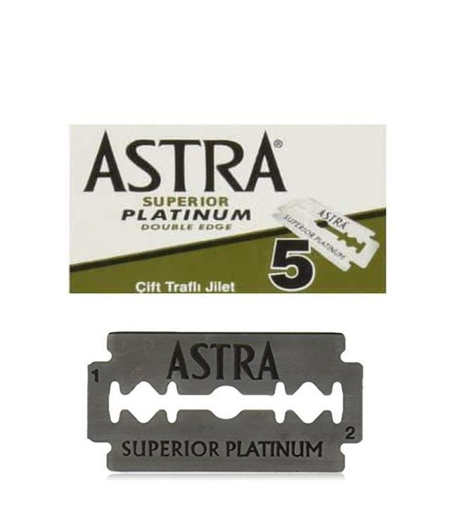 Astra Superior Platinum Double Edge Blades (5 st)