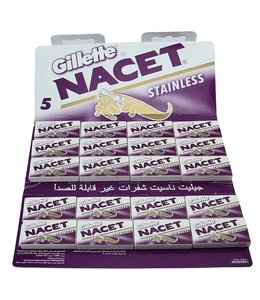 Gillette Nacet Stainless Double Edge Blades (100 st)