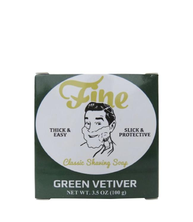 Fine Accoutrements Classic Shaving Soap Green Vetiver