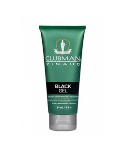 Clubman Pinaud Temporary Colour Gel - Black