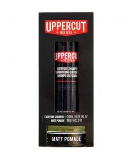 Uppercut Deluxe Duo Matt Pomade + Shampoo