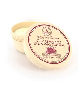 Taylor of Old Bond Street Scheercreme Cedarwood