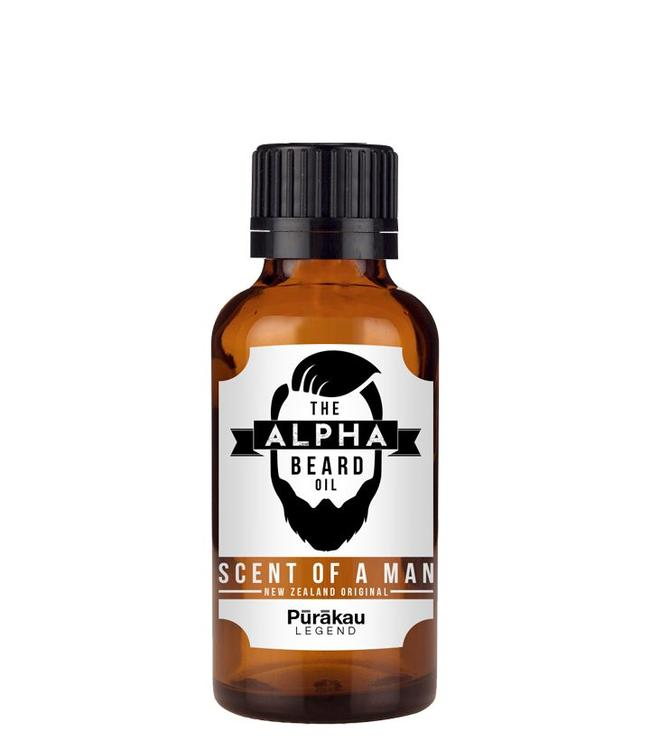 Alpha Beard Oil Purakau - Peppermint