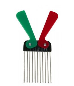 Comby Metal Tooth Folding Afro Comb