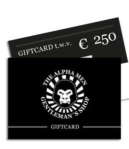 The Alpha Men Gift Card € 250