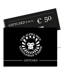 The Alpha Men Gift Card € 50