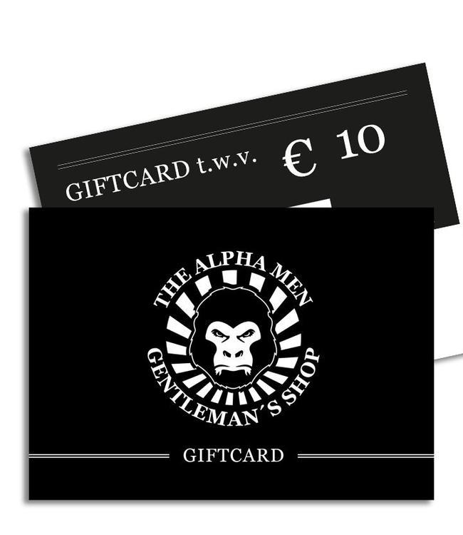 The Alpha Men Gift Card € 10