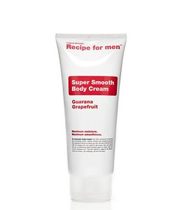 Recipe for Men Body Cream Super Smooth