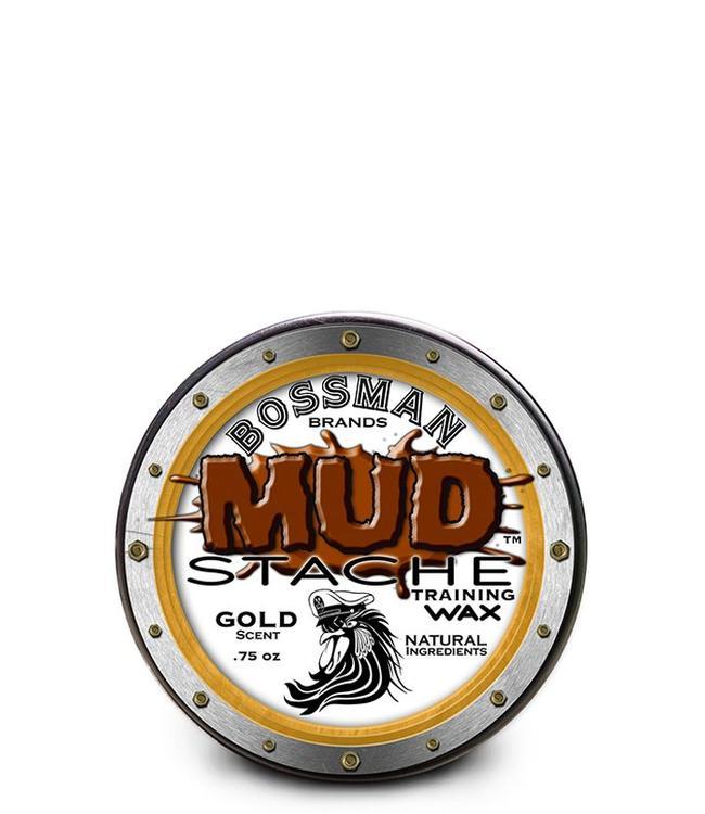 Bossman MUD Stache Moustache Wax Gold