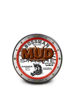 Bossman MUD Stache Moustache Wax Hammer