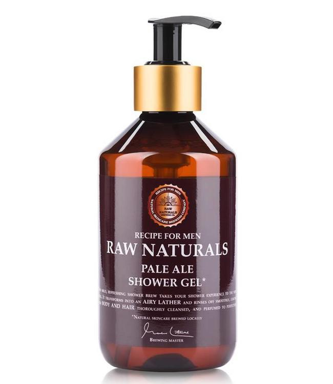 Recipe for Men RAW Naturals Pale Ale Shower Gel