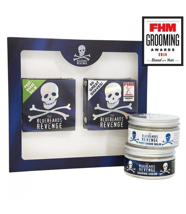 The Bluebeards Revenge Shaving Cream & Post Shave Balm Kit