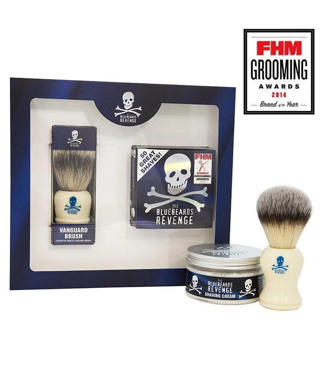 The Bluebeards Revenge Shaving Cream & Vanguard Brush Kit