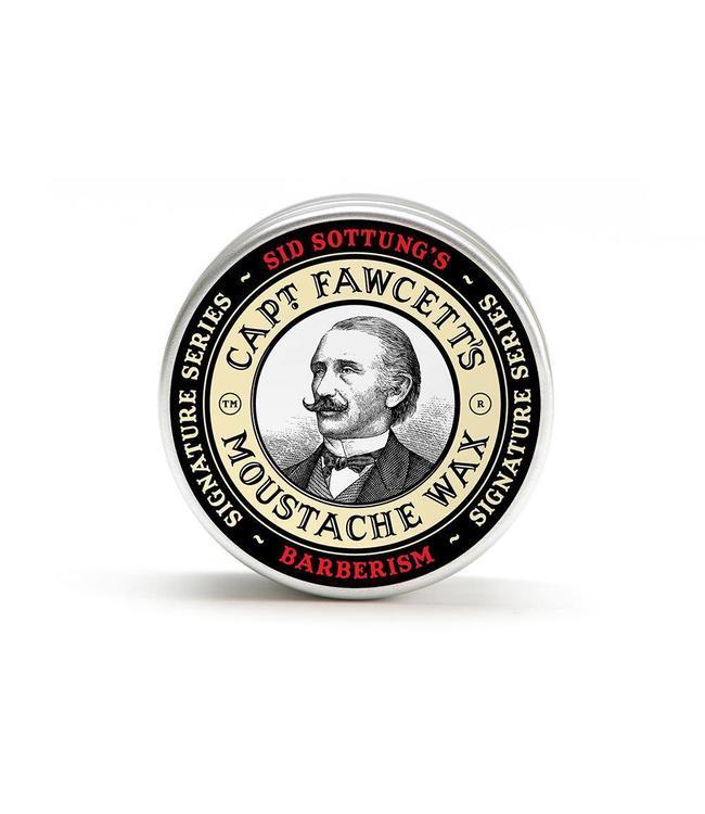 Captain Fawcett Barberism Moustache Wax