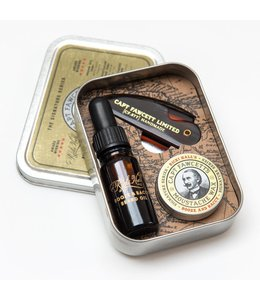 Captain Fawcett Ricki Hall's Grooming Survival Kit