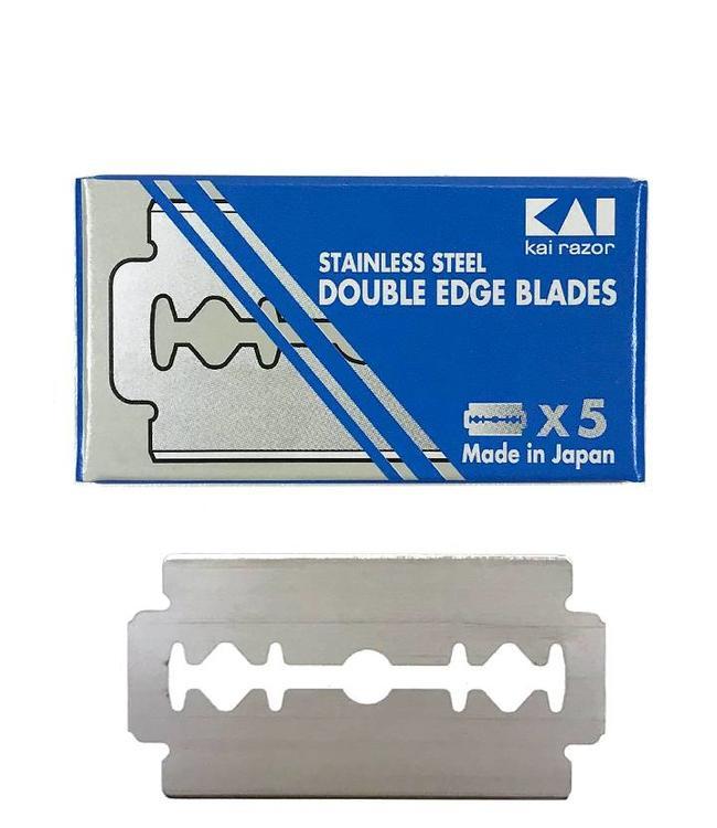 KAI Double Edge Blades (5 st)