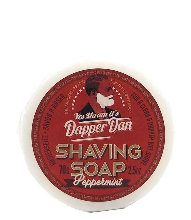 Dapper Dan DE Shaving Soap - Peppermint