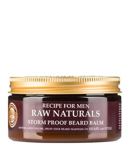 Recipe for Men RAW Naturals Storm Proof Beard Balm