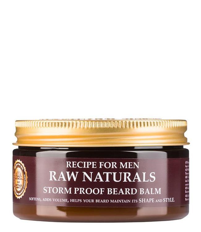 Recipe for Men RAW Naturals Storm Proof Beard Balm