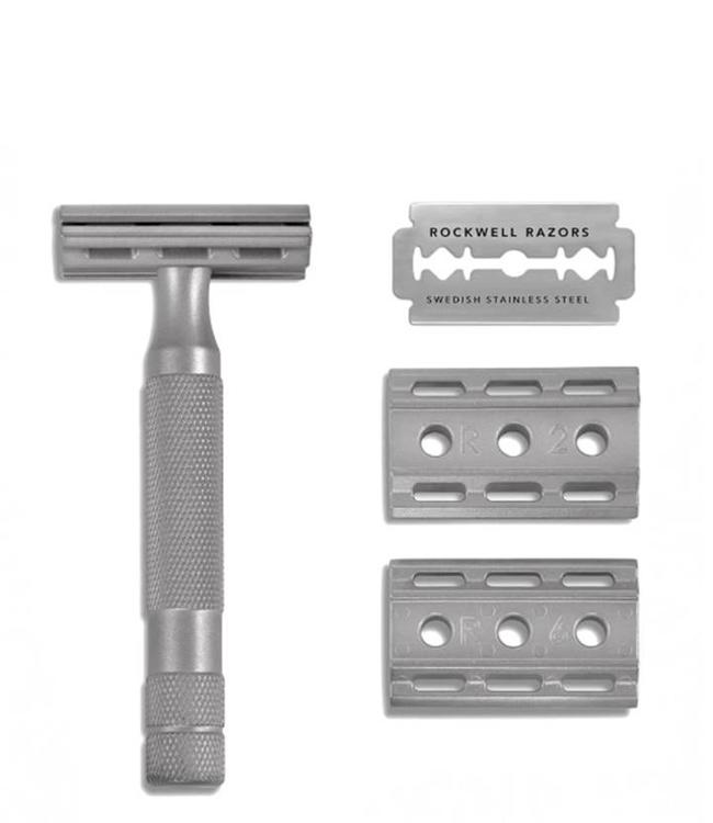Rockwell Razors 6S Safety Razor - Solid Stainless Steel