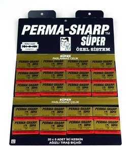 Perma-Sharp Super Double Edge Blades (100 St)