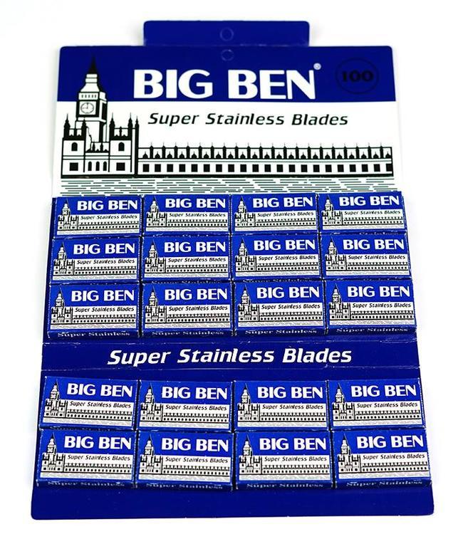 Big Ben Super Stainless Double Edge Blades (100 st)