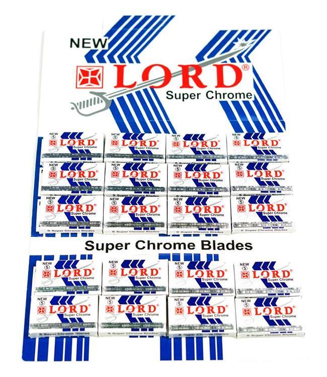 Lord Super Chrome Double Edge Blades (100 st)