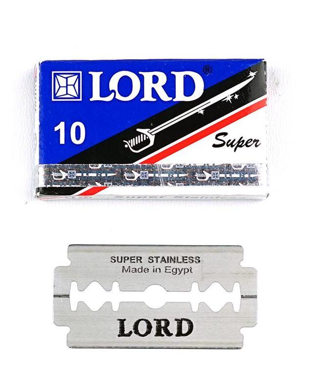 Lord Super Inox Double Edge Blades (10 st)