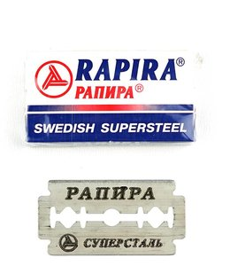 Rapira Sweedish Supersteel Double Edge Blades (5 st)