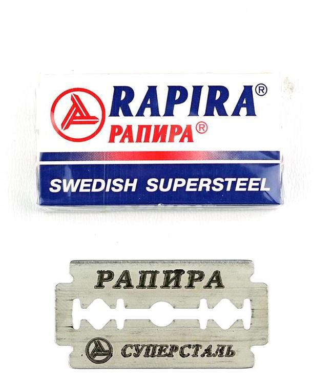Rapira Sweedish Supersteel Double Edge Blades (5 st)