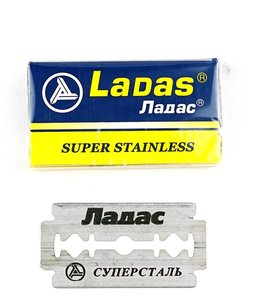 Ladas Super Stainless Double Edge Blades (5 st)