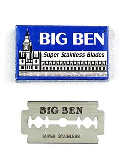 Big Ben Super Stainless Double Edge Blades (5 st)