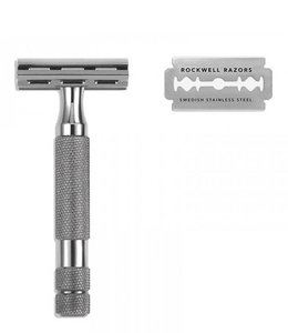 Rockwell Razors 2C Safety Razor - Gunmetal Chrome Plated