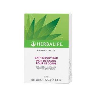 Herbal Aloë Bath & Body Bar  1 doosje 125 gr