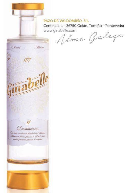 Valdomiño Premium Spirits Ginabelle Mirabellen-Gin