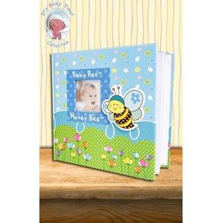 Babyalbum bijtje blauw