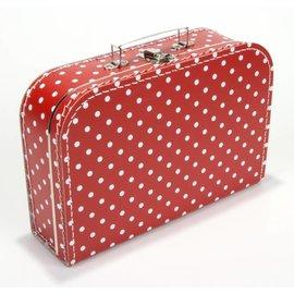 Koffertje stippen rood