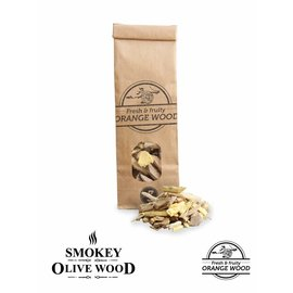 Smokey Olive Wood Sinaasappel houtchip No 3