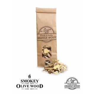 Smokey Olive Wood Sinaasappel houtchip No 3
