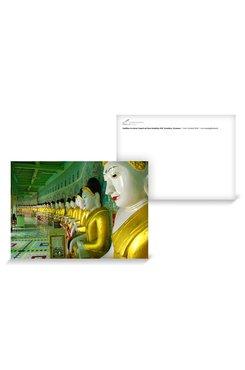 © Gerhard Weil; Buddhas in einem Tempel auf dem Mandalay Hill, Mandalay, Myanmar